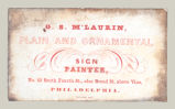 G. S. M'Laurin, Plain and Ornamental Sign Painter