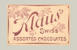 Klaus's Swiss Assorted Chocolates