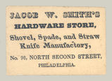 Jacob W. Smith's Hardware Store