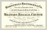 Military, Regalia, Church and Theatrical Goods (Horstmann Brothers & Co.)