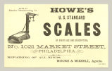Howe's U.S. Standard Scales (Brandon Manufacturing Co.)