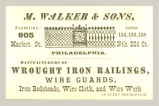 Wrought Iron Railings (M. Walker & Sons)