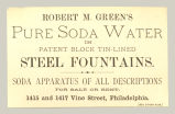 Pure Sode Water (Robert M. Green)