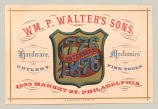 Hardware, Mechanics (Wm. P. Walter's Sons)