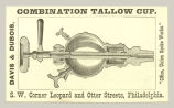 Combination Tallow Cup (Davis & Dubois)