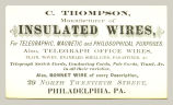 Manufacturer of Insulated Wires (C. Thompson)