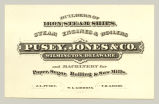Iron Steam Ships (Pusey, Jones & Co.)