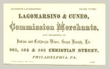 Commission Merchants (Lagomarsino & Cuneo)