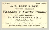 Veneers & Fancy Wood (A. L. Rapp & Son)