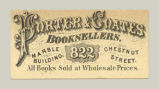 Booksellers (Porter & Coates)