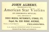American Star Violins (John Albert)
