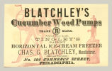Blatchley's Cucumber Wood Pumps (Charles G. Blatchley)