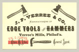 Edge Tools and Hammers (J. P. Verree & Co.)