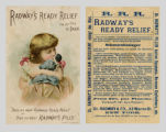 "Radway's Ready Relief for the Cure of Pain: ""Does oo want Radway's Ready Relief or does oo..."