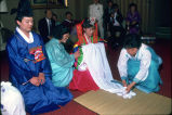Korean Wedding, Sunnyvale, CA, 1988