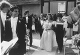 Jewish Wedding (Reform), Southampton, NY, 1989