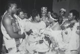 Asante (Ghana) Wedding, Brooklyn, NY, 1992
