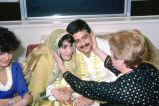 Pakistani Wedding, New York, NY, 1985