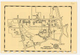 Bryn Mawr College Campus Map, 1960