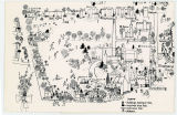 Bryn Mawr College Campus Map, 1967