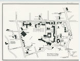 Bryn Mawr College Campus Map, 1990