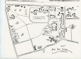 Bryn Mawr College Campus Map, 1935