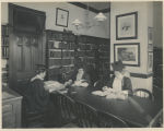 Students reading in Taylor Hall library