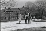 Students near Merion