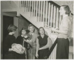Students in the French House, Wyndham Alumnae House