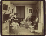 Dorm room interior, Denbigh Hall