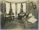 Student's dorm room in Denbigh Hall