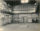 Interior of first gymnasium