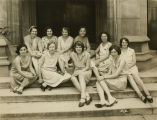 Students from the Bryn Mawr Summer School for Women Workers in Industry