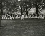 Little May Day 1949 Hoop Rolling