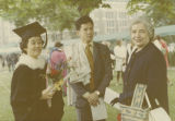 Martha Liao with Dennis Lew and Margaret Keith