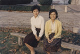 Pauline Chu with Linda Chang