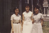 Linda Chang, Pauline Chu and Shirley Seung