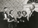 (L-R) Ernest C. Savage, Jane B. Yestman, Class of 1922 (AB 25); Phyllis W. Goodhart, Class of...