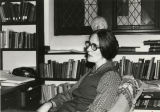 Julia H. Gaisser in her Thomas Library office