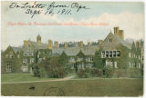 Bryn Mawr, Pa. Denbigh Hall from Southwest, Bryn Mawr College