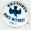 Brethren Peace Witness. June 25 1962. Washington, D.C.