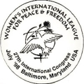 Women's International League For Peace & Freedom. 27th International Congress. July '98....
