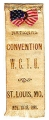 National Convention; W.C.T.U.; St. Louis, Mo.; Nov. 13-18, 1896