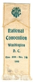 National Convention; Washington D.C.; Nov. 30th-Dec. 7th; 1900