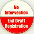 No Intervention; End Draft Registration