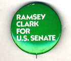 Ramsey Clark For U.S. Senate.