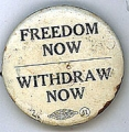 Freedom Now. Withdraw Now.