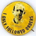 I Only Followed Orders. Eichmann.