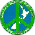 Nuclear Weapon Free Zone. New Zealand.