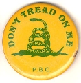 Don't Tread On Me. P.B.C.
